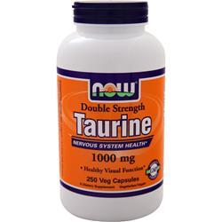 Now Double Strength Taurine (1000mg) 250 vcaps