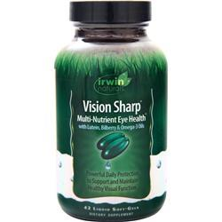 Irwin Naturals Vision Sharp - Multi-Nutrient Eye Health 42 sgels