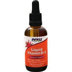 Now Vitamin D3 Liquid (400IU) 2 fl.oz