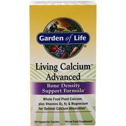 GARDEN OF LIFE Living Calcium Advanced 120 vcaps