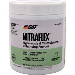 GAT Nitraflex PWD Green Apple 300 grams