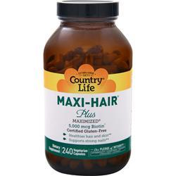 Country Life Maxi-Hair Plus 240 vcaps