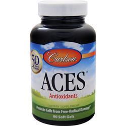 Carlson ACES - Vitamins A, C, E plus Selenium 90 sgels