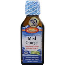Carlson Norwegian MedOmega Fish Oil 2800 Lemon Lime 100 mL