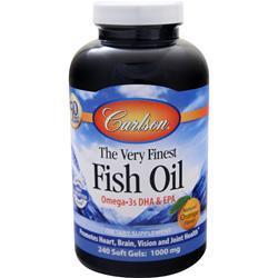 Carlson The Very Finest Fish Oil (1000mg) Orange 240 sgels