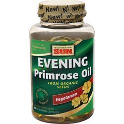 Health From The Sun 100% Vegetarian Evening Primrose Oil 90 sgels