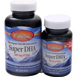 Carlson Super DHA Gems 60 + 20 pack 80 sgels