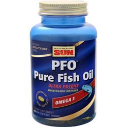 Health From The Sun PFO Pure Fish Oil Ultra Potent Orange 90 sgels