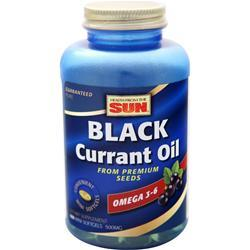 HEALTH FROM THE SUN Black Currant Oil (500mg) 180 sgels