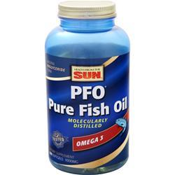 Health From The Sun PFO - Pure Fish Oil Orange Flavor 180 sgels