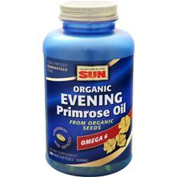 Health From The Sun Evening Primrose Oil (500mg) Organic 180 sgels