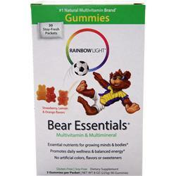 Rainbow Light Gummy Bear Essentials 30 pckts
