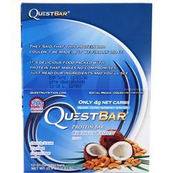 Quest Nutrition Quest Natural Protein Bar Coconut Cashew 12 bars