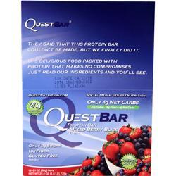Quest Nutrition Quest Bar Mixed Berry Bliss 12 bars