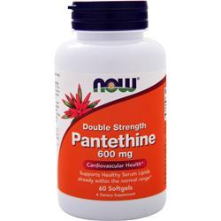 Now Pantethine (600 mg) 60 sgels