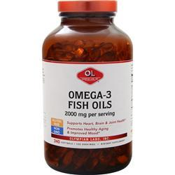 Olympian Labs Omega-3 Fish Oils (1000mg) 240 sgels