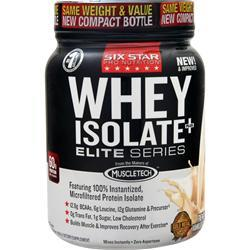 Six Star Pro Nutrition Professional Strength Whey Isolate Elite Series French Vanilla Cream 1.5 lbs
