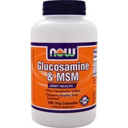 Now Glucosamine & MSM 180 vcaps