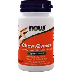 Now ChewyZymes Natural Berry 90 wafrs