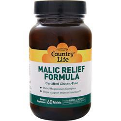 Country Life Malic Relief Formula 60 tabs