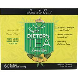 Laci Le Beau Super Dieter's Tea Cleanse Lemon Mint 60 pckts