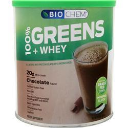 Biochem 100% Greens & Whey Chocolate 23.7 oz