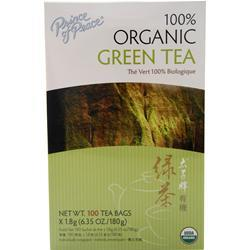Prince of Peace Green Tea - 100% Organic 100 pckts