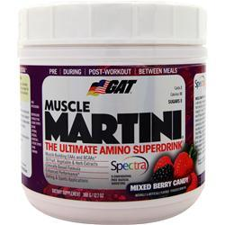 GAT Muscle Martini Mixed Berry Candy 365 grams