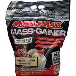 Muscle Maxx Mass Gainer Vanilla Dream 12 lbs