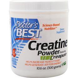 Doctor's Best Creatine Powder (Creapure) 300 grams
