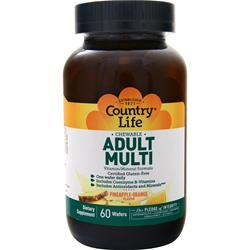 Country Life Chewable Adult Multi 60 wafrs
