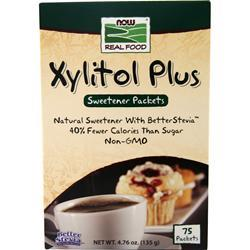 Now Xylitol Plus 75 pckts