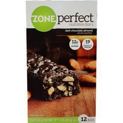 Zone Perfect Dark Chocolate Nutrition Bar Dark Chocolate Almond 12 bars