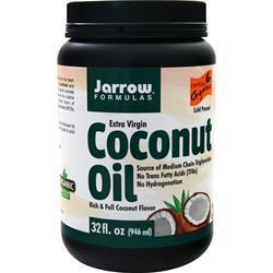 Jarrow Coconut Oil - Extra Virgin Liquid 32 oz