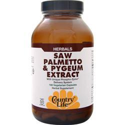Biochem Saw Palmetto & Pygeum Extract 180 vcaps