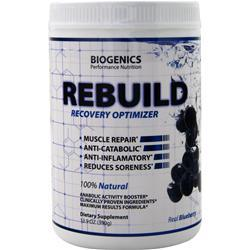 Biogenics Rebuild - Recovery Optimizer Blueberry 13.2 oz