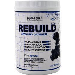 Biogenics Rebuild - Recovery Optimizer Blueberry 13.2 oz