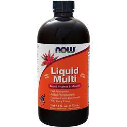 Now Liquid Multi Wild Berry 16 fl.oz