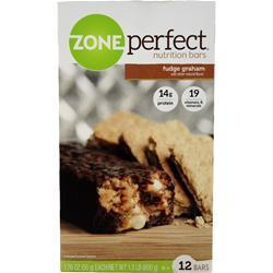 Zone Perfect Nutrition Bar Fudge Graham 12 bars