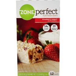 Zone Perfect Nutrition Bar Strawberry Yogurt 12 bars