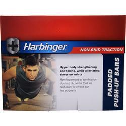 Harbinger Padded Handle Push Up Bars 2 bars