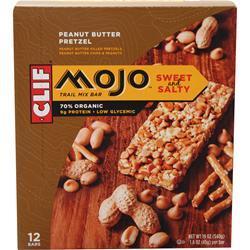 Clif Bar Mojo Bar Peanut Butter Pretzel 12 bars