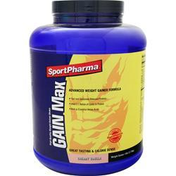 SportPharma GAIN Max Vanilla 6 lbs
