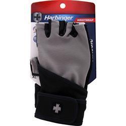 Harbinger Classic Wristwrap Glove Black/Grey (XL) 2 glove