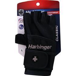 HARBINGER Classic Wristwrap Glove Black (XS) 2 glove