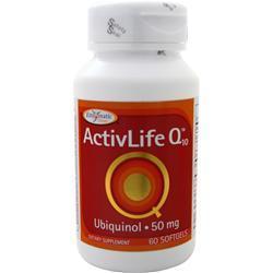 Enzymatic Therapy ActivLife Q10 - Ubiquinol (50mg) 60 sgels