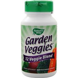 Nature's Way Garden Veggies 60 vcaps