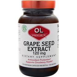 Olympian Labs Grape Seed Extract (120mg) 100 caps