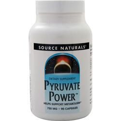 Source Naturals Pyruvate Power (750mg) 90 caps