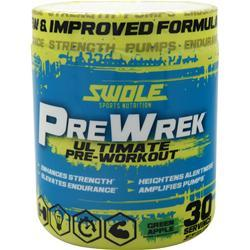 Swole Pre Wrek - Ultimate Pre-Workout Green Apple 270 grams